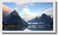 Picturesque mountain glaciers