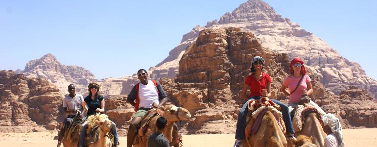 FIE: Desert, Camel riding