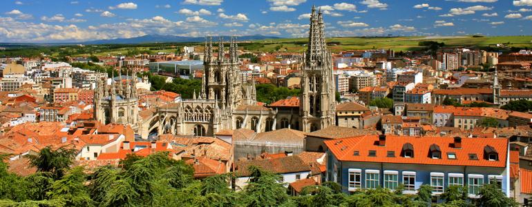Burgos City view facing south east