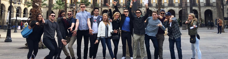 ALBA Study Abroad in Barcelona participants
