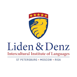 Liden & Denz Intercultural Institute of Languages St. Petersburg, Moscow and Riga Logo