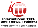 International TEFL and TESOL Training: Online Logo