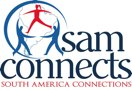South America Connections Logo