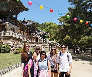 A beautiful old palace in Gyeongju.