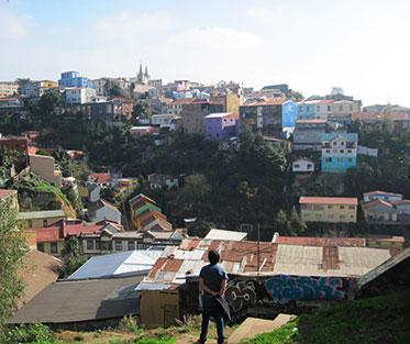 High in the Hills of Valparaíso