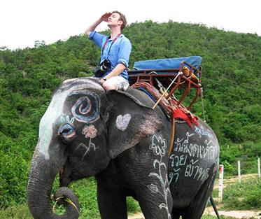Envisioning the future of PAA from the back of an elephant in Thailand.