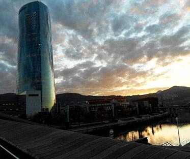 The Iberdrola Tower in Bilbao, Spain.