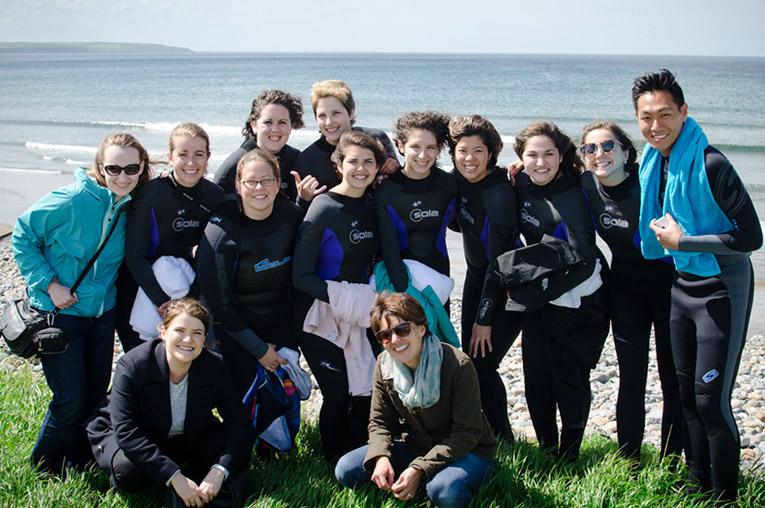 Stint Ireland program participants in Ireland