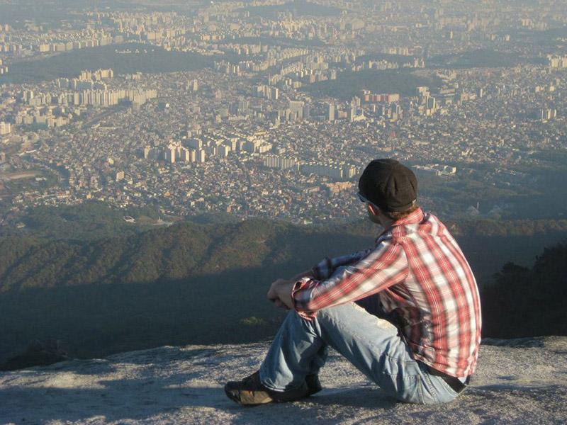 A city view of Seoul, South Korea.
