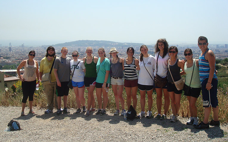 Hiking Mount Tibidabo in Spain
