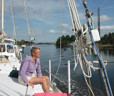 The Director ofFederation EILon a four month sailing adventurewith her family.