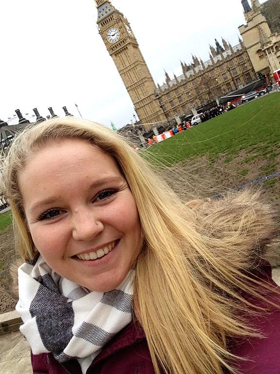 Visiting Big Ben in London, England