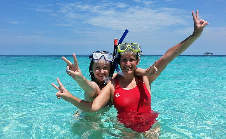 Snorkeling in Tioman Island, Malaysia