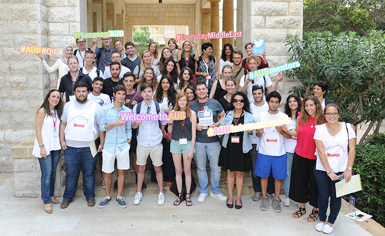 International Student Orientation Day at the American University of Beirut