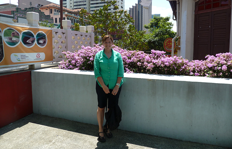 Site seeing in Singapore