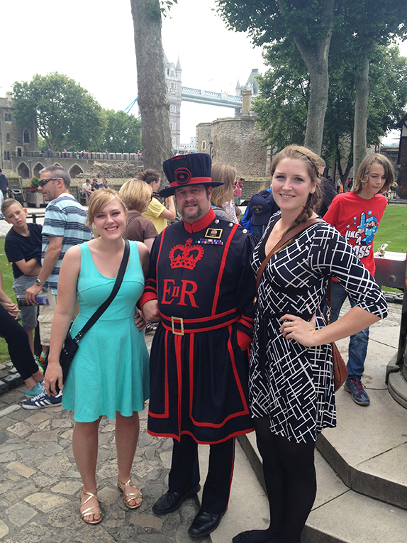 Sightseeing near the Tower of London