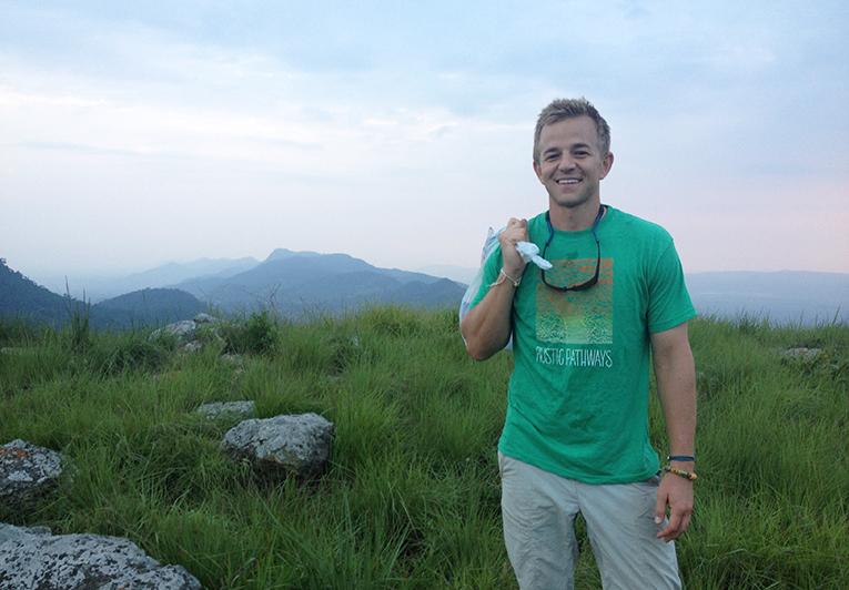 Hiking up Mount Gemi in Ghana