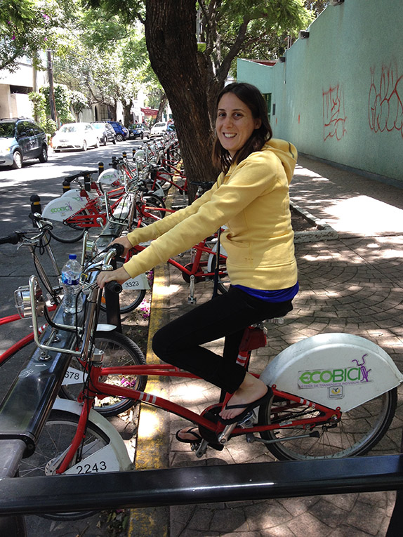 Bike Riding in Mexico City