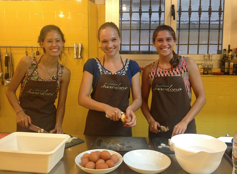 Cooking classes in Barcelona, Spain