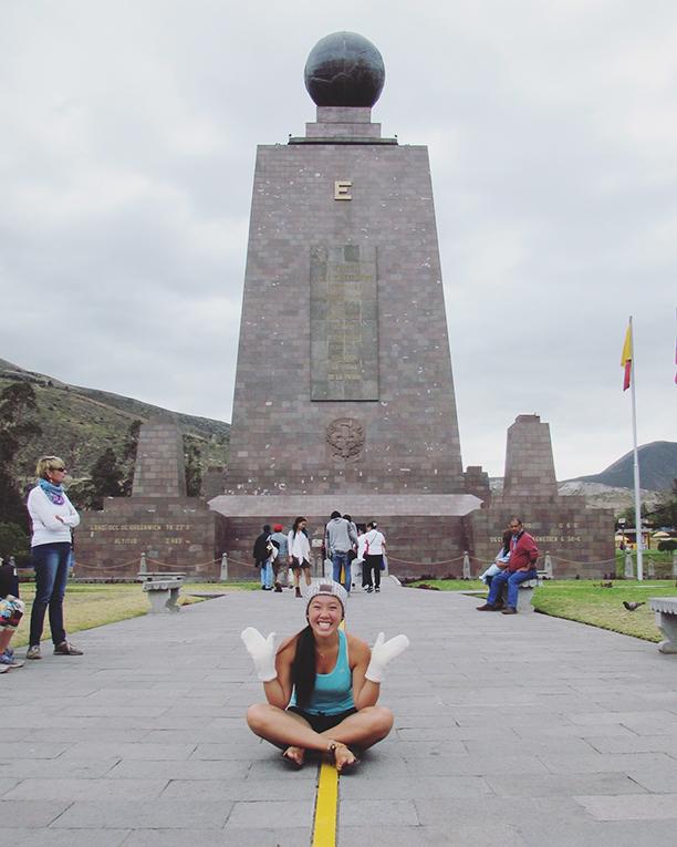 Mitad del Mundo in Pichincha, Ecuador