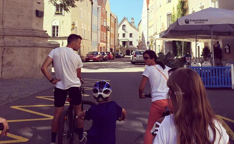 Exploring Austria on bicycles