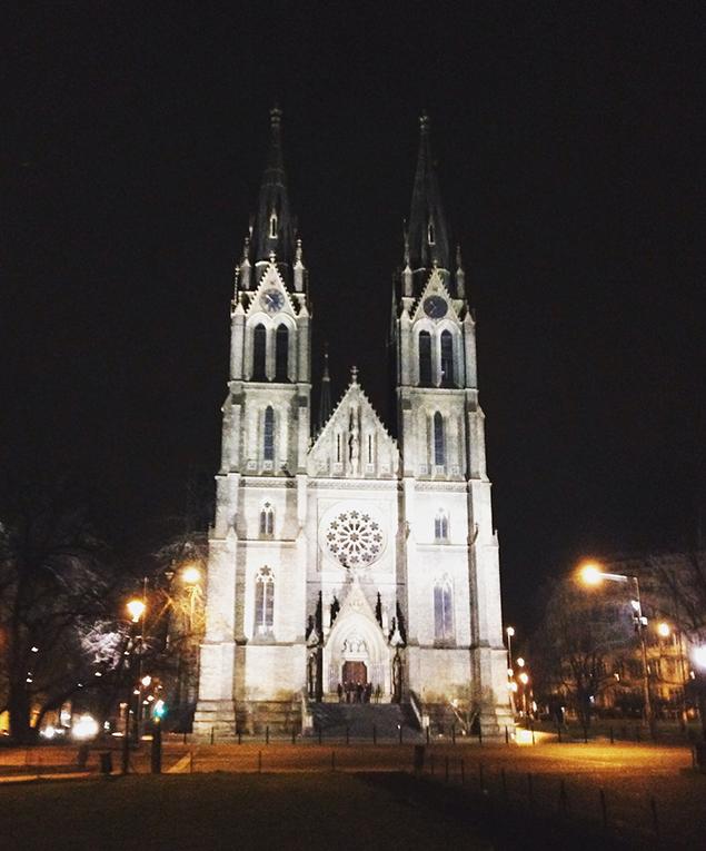 Church of St. Ludmila, Prague, Czech Republic