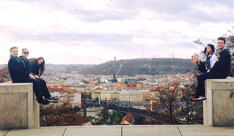 A view of Prague, Czech Republic