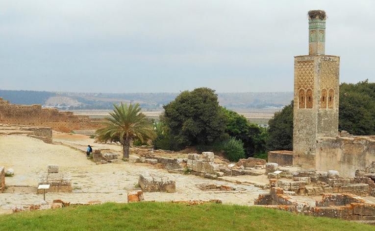 Ruins near Rabat, Morocco