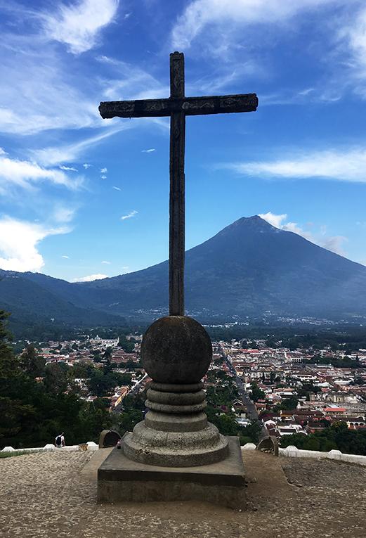 Cerro De La Cruz in Antigua, Guatemala