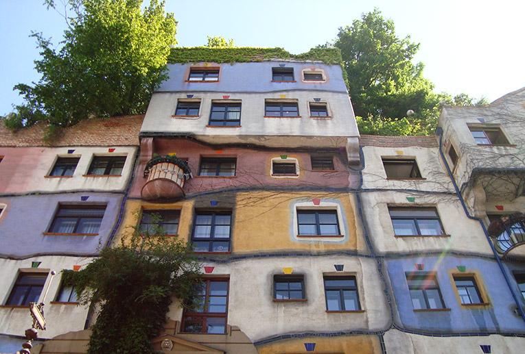 Hundertwasserhaus in Austria