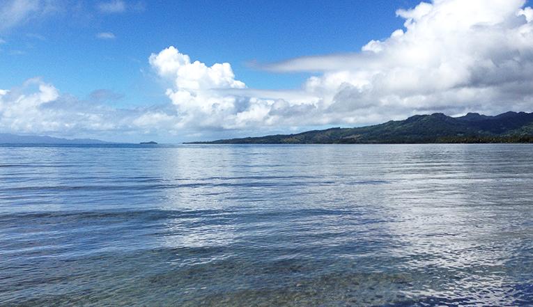 Beach in Silana, Fiji