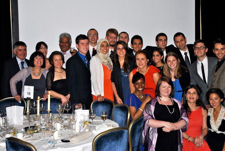 Biennial Dinner of the Anglo-Jordanian Society in Amman, Jordan