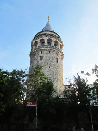 The Galata Kulesi in the Karaköy quarter of Istanbul, Turkey