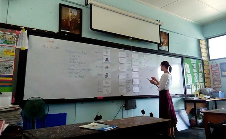International teacher at Amphawan Witthayalai School in Thailand