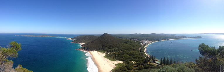 Tomaree Head in Port Stephens, New South Wales, Australia