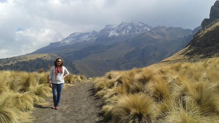 Iztaccíhautl, a dormant volcano in Mexico