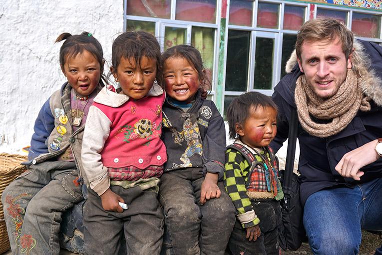 Village Children in Tibet