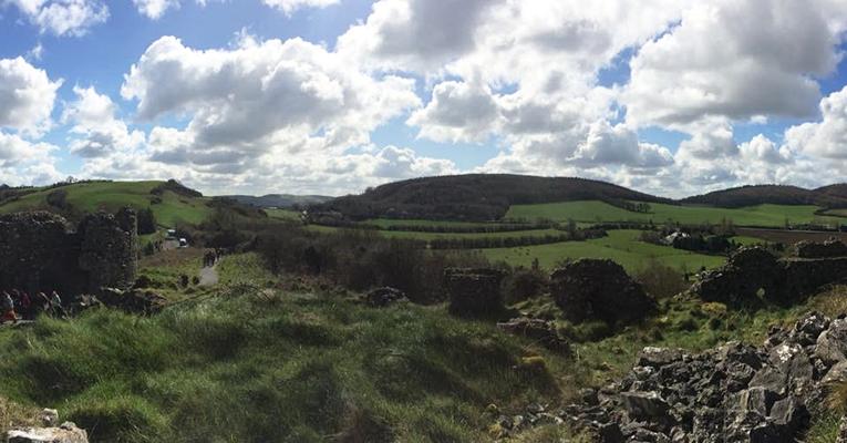 Rolling hills in Ireland