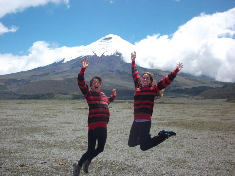 Hiking in Quito near the Cotopaxi Volcano