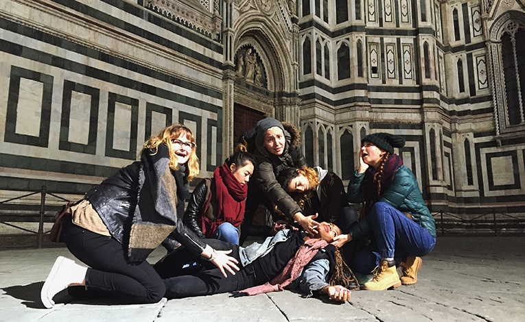 Recreating the Deposition of Christ at the Duomo in Florence, Italy