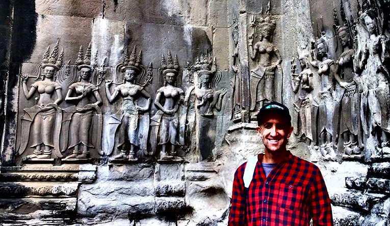 Visiting Temples in Cambodia
