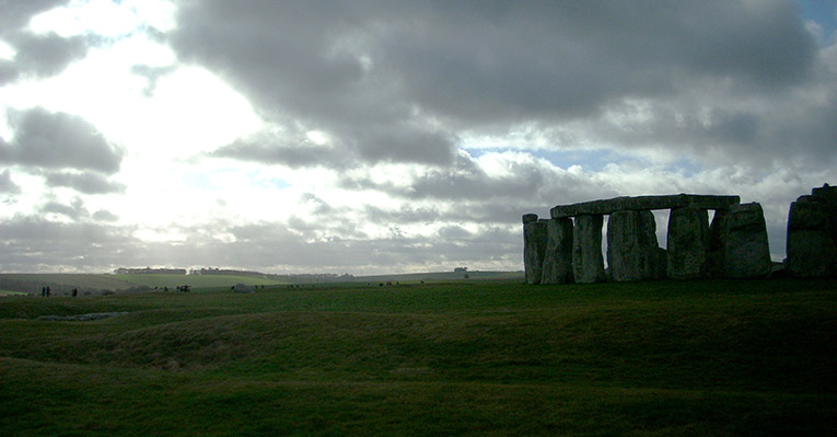 Visiting Stonehenge in England
