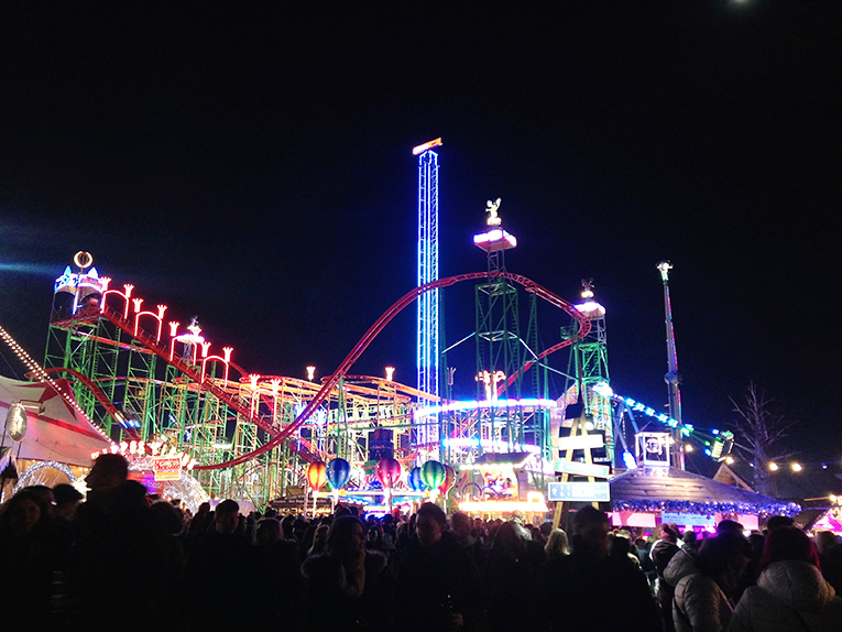 Hyde Park turns into a Winter Wonderland with lights, music, and rides