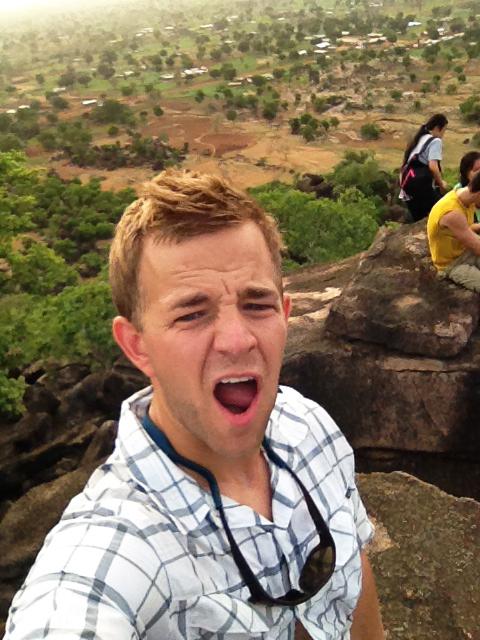 Climbing Bongo Hill in Ghana