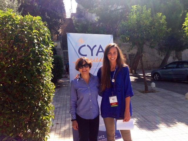 College Year in Athens staff at the 2016 Forum European Conference in Athens, Greece