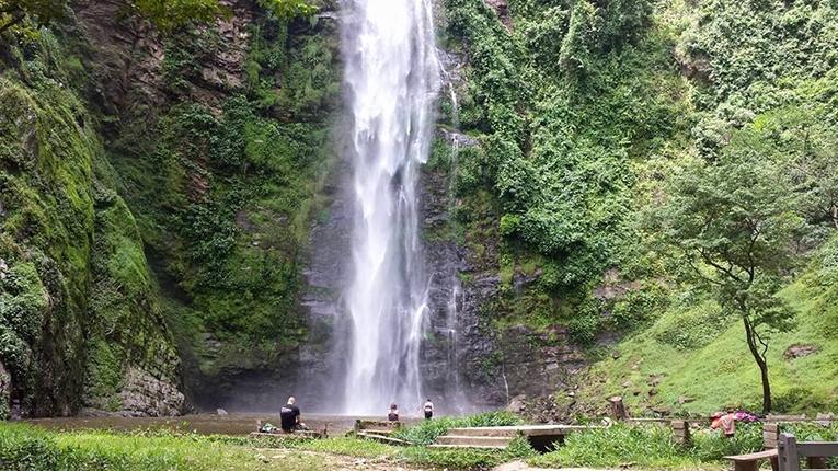 Wli Waterfall in Ghana