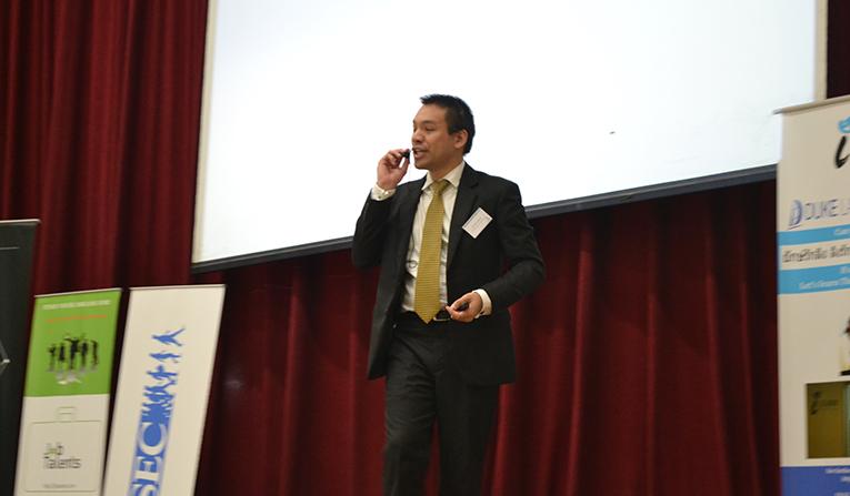 Simon Osborne, keynote speaker, AIESEC Thailand Youth 2 Business Forum 2015