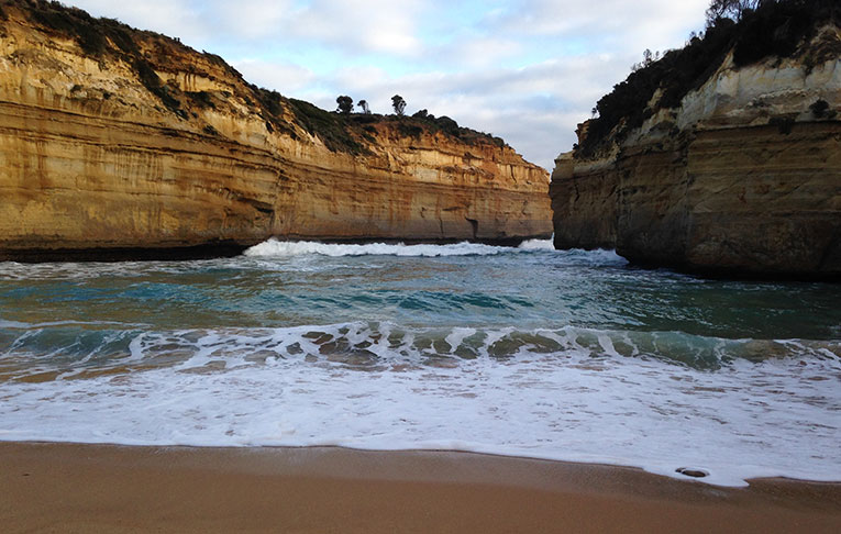 The Loch Ard Gorge in Port Campbell National Park, Victoria, Australia