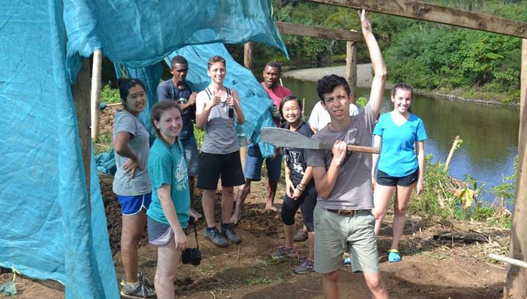 Agriculture volunteering in Fiji
