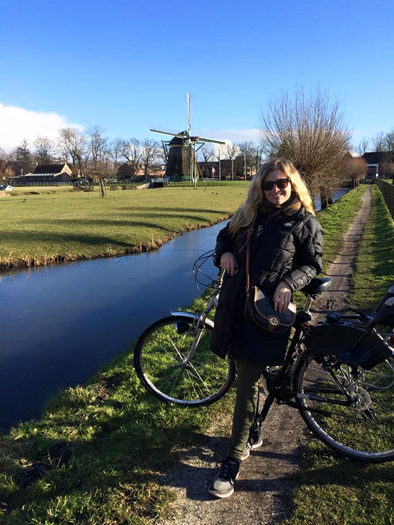 Biking in the Netherlands
